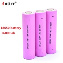 18650 2600mah electronic cigarette Rechargeable batteries power high discharge 20A large current Vape mod power 1pc withcase