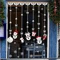Горячие Продажи детский Милый Стикер Окна Красивый Снеговик Наклейки Смешно Рождественский Подарок!