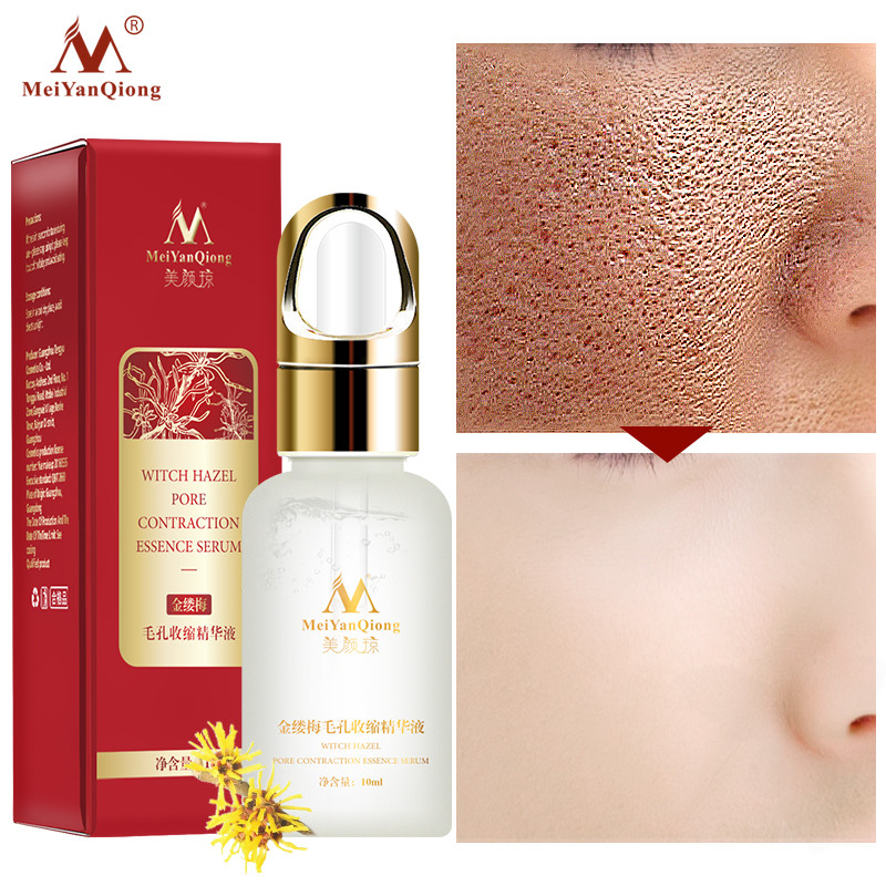 2019Facial Care Tools Essential Witch Hazel Pore Shrink Refining Serum Anti-aging Fades Fine Lines To Repair Skin Essence Liquid