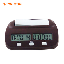 New Arrival Chess Clock Digital Count Up Down Electronic Timer Professional Player Set Portable Handheld Master Board game