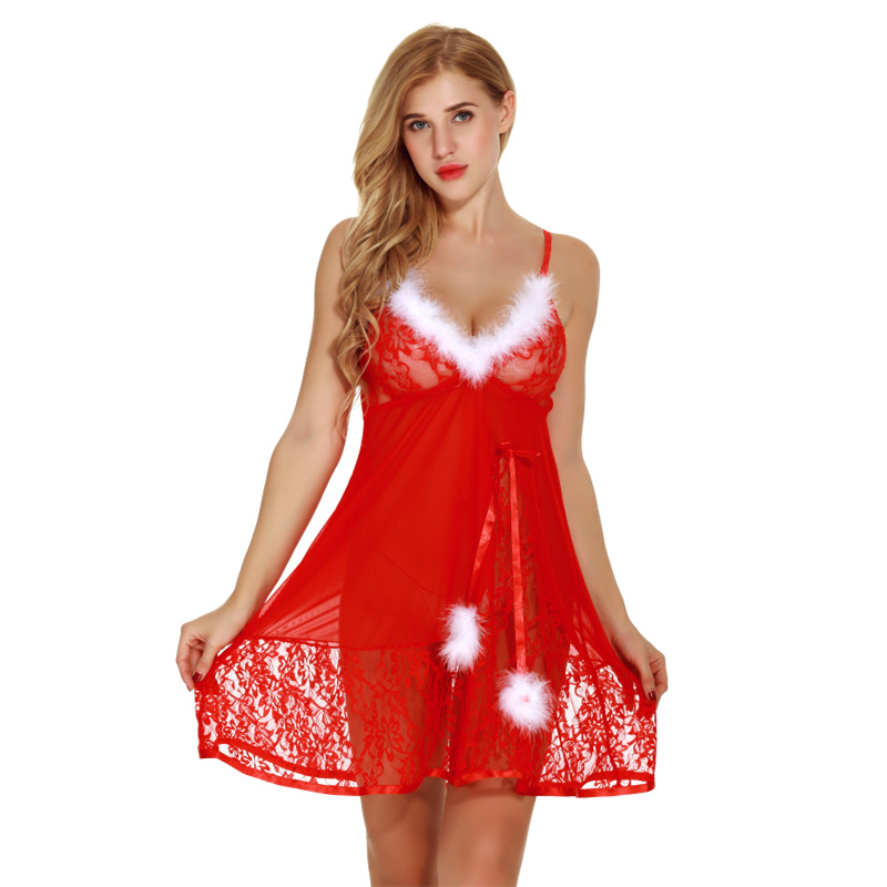 Women's Exotic Apparel 2018 Sexy Hot Costumes Lingerie Womens Lace Dress Underwear Black Babydoll Sleepwear G-string Es Porno Lenceria Erotic Langerie With Traditional Methods