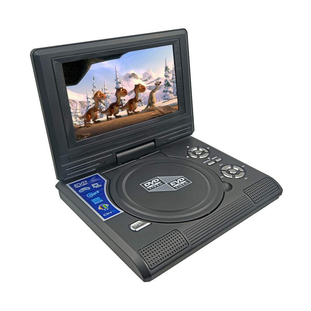 New 7 8inch Portable DVD Player Digital Multimedia Rechargerable Player With Game FM Radio TV AV