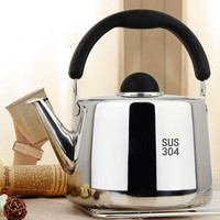 304 Stainless steel kettle High capacity Gas gas Whistle Kettle Induction cooker teapot Thicken kettle