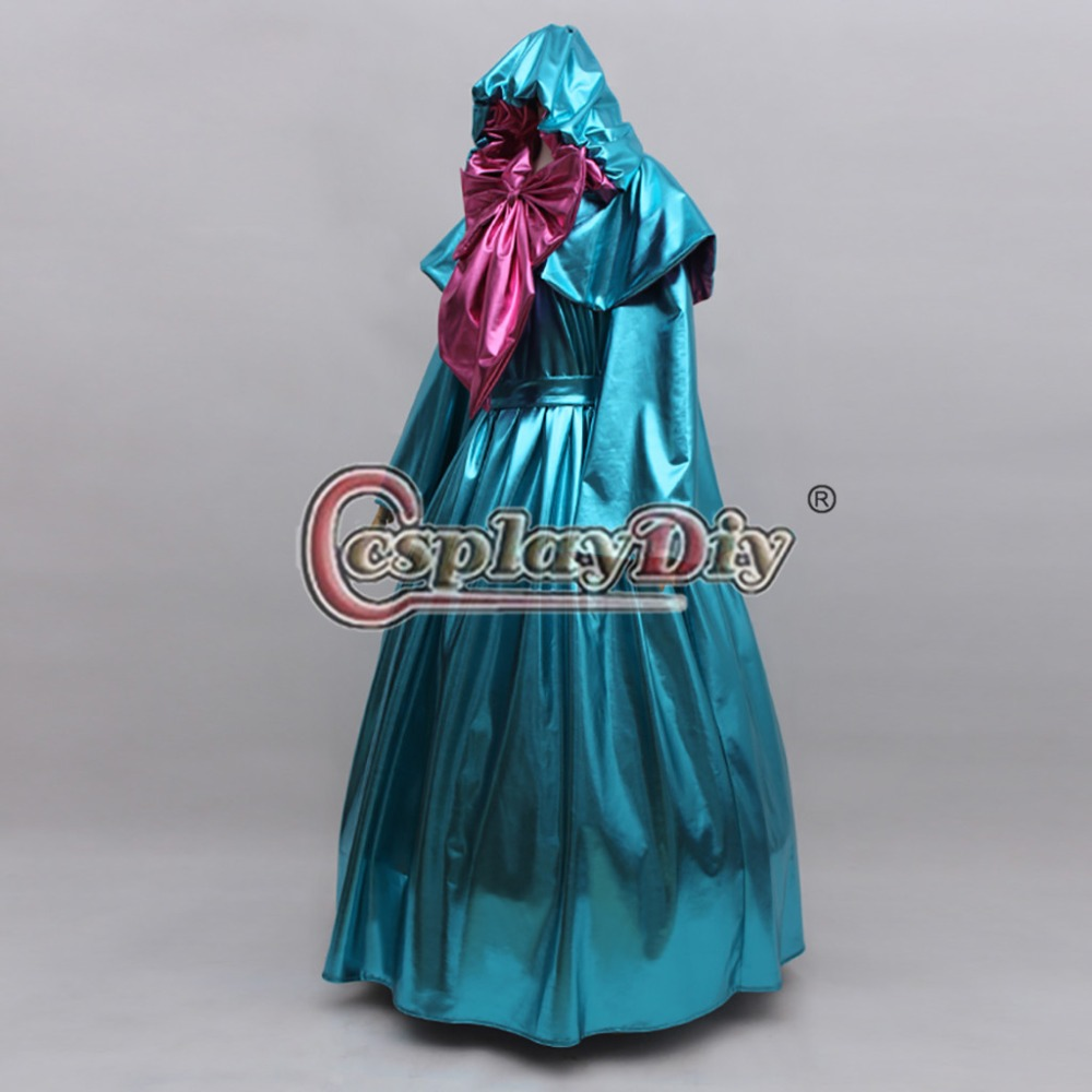 Image 2 - Cosplaydiy Custom Made Cinderella Fairy Godmother Cosplay Costume Dress Adult Princess Cinderella Dress L320-in Anime Costumes from Novelty & Special Use