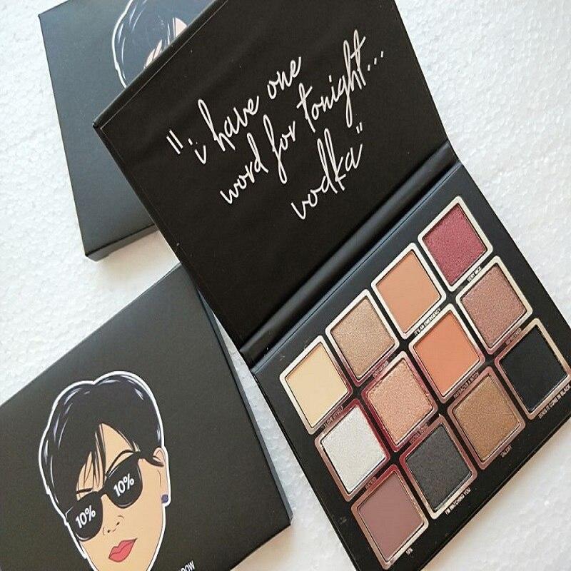 12 Color Peach Powder Eyeshadow With Cosmetics Eyeshadow -5520