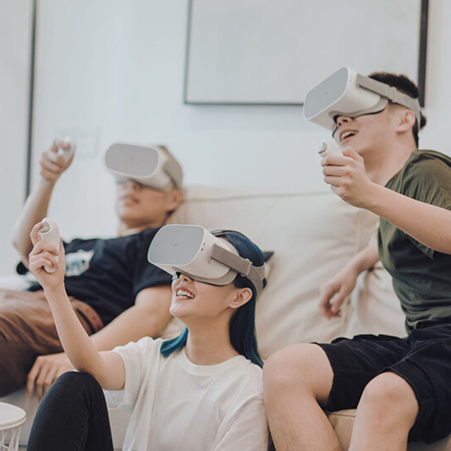 Original Xiaomi Mi VR Standalone All In One VR Glasses With Oculus 3GB/32GB 2K LCD Screen With Remote Controller VR Headset 5