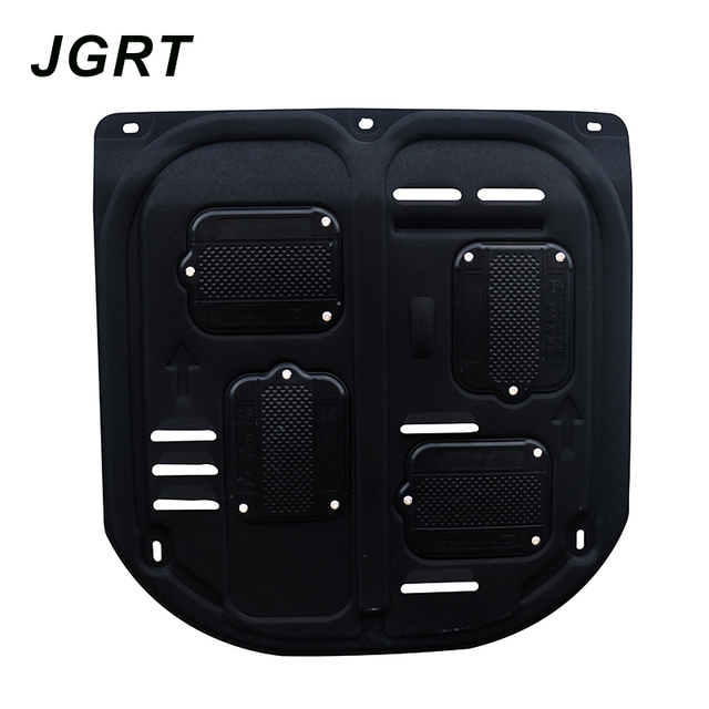 Car styling For Ford Ecosport plastic steel engine guard For Ecosport 2013-2017 Engine skid plate fender 1pc 2