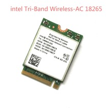 New intel 18265NGW 8265NGW Tri-Band Wireless-AC 2.4G/5G +Bluetooth 4.2 WIFI Module 867Mbps Wireless Card For Laptop