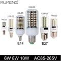 MUMENG LED Corn Bulb E27 E14 78 120 100pcs SMD5730 LED Lamp 6W 8W 10W Lampada AC85-265V Lamparas Bombillas led  For Chandelier
