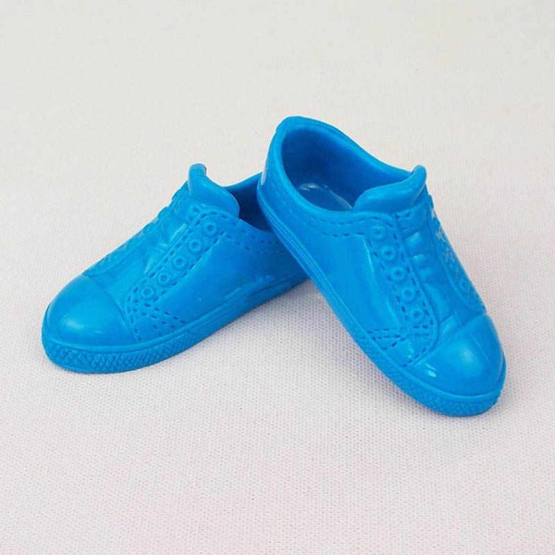 662e883727f ... 1 пара модная обувь для куклы спортивная обувь цена Кен мужской  аксессуары кукол парень Барби Кен