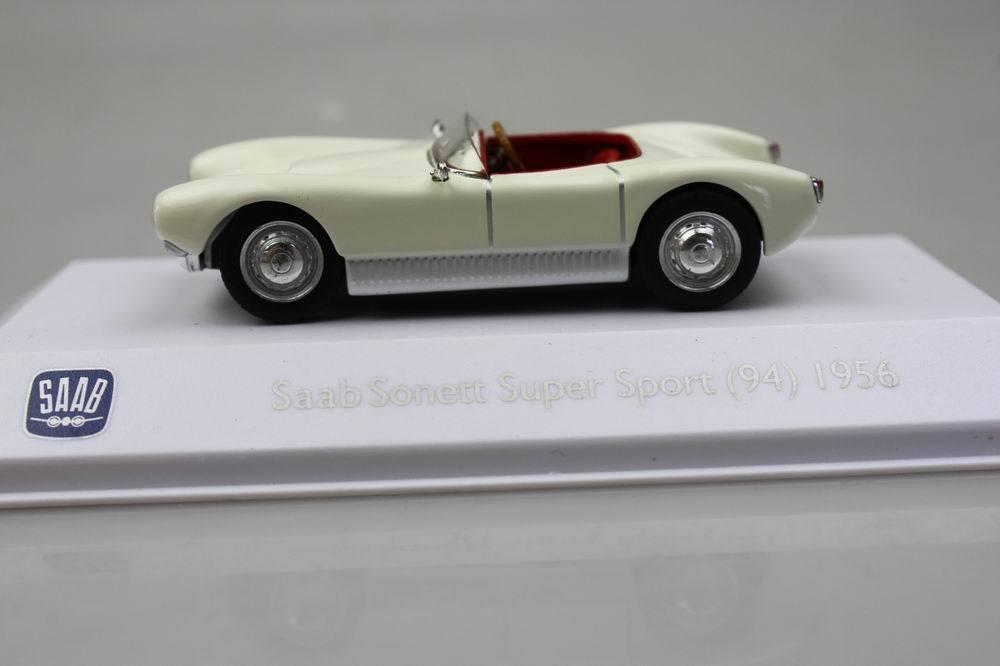 Atlas 143 Saab Sonett Super Sport 94 1956 Alloy Car Models In