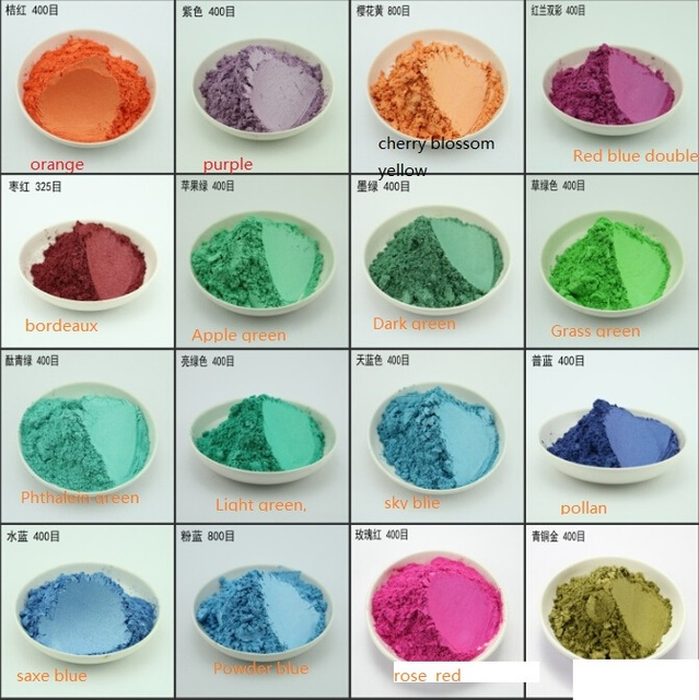 100g pearl pigment,mica powder Acrylic paint Color pearl powder ...