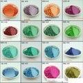 100g pigmento pérola, mica em pó tinta Acrílica pintura Metálica de Cor pérola em pó pó de flash 1 lote = 1 color = 100G (observe a cor)