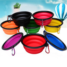 Pet Soft Dog Bowl Folding 1pcs Silicone Travel for Portable Collapsible Cat Food Water Feeding