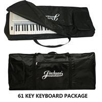 61 anahtar evrensel klavye Kılıf çanta paketi elektronik piyano Taşıma çantası su geçirmez elektronik org çantası Enstrüman Piyano Çantaları hediye