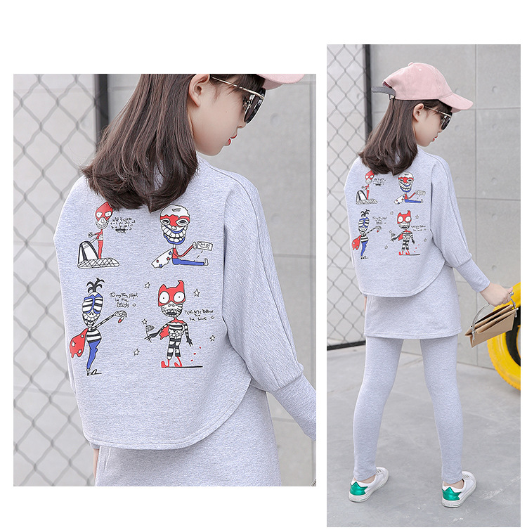 HTB179WoSFXXXXcIXVXXq6xXFXXXk - 2017 Baby Clothing Set Autumn Baby Girls Clothes Long Sleeve T-Shirt+Pants 2Pcs Suits Cartoon Children Spring Solid 6-15T O-Neck