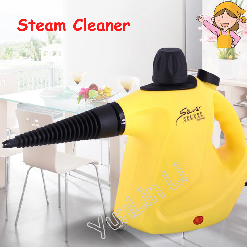 Handheld Steam Cleaning Machine High Temperature Kitchen Range Hood Air Conditioner Cleaner HD-268 1pc household high temperature kitchen bathroom steam cleaning machine handheld high temperature sterilization washing machine