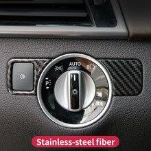 цена на For Mercedes benz ml350 gl gls x166 gle 350d w166 coupe c292 amg A w176 B W246 CLA C117 glk x204 Headlight Switch Button trim