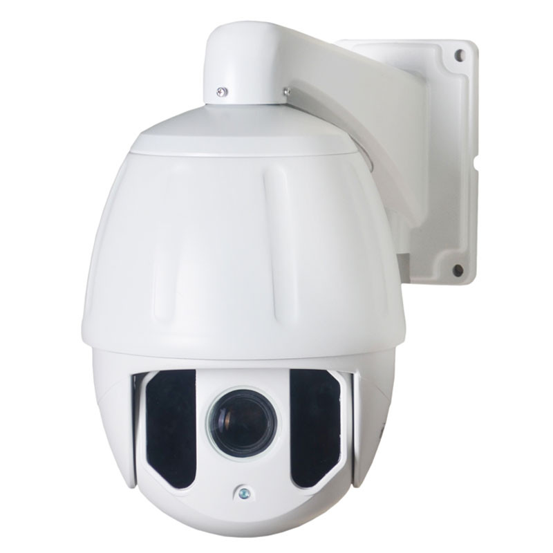 H.265 Onvif 2.4 HD 1080P 2.0MP 20X optical zoom onvif network full metal ip ptz High speed dome camera with 100m IR distance