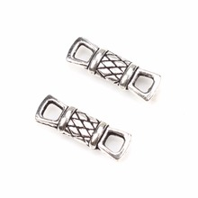20pcs/lot 18*5.9MM Hot high quality New Arrival antique silver Connectors For DIY Fashion Jewelry making