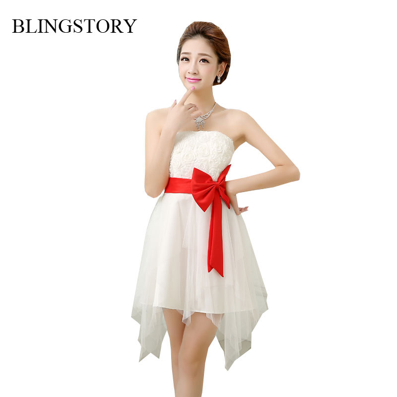 blingstory brand new butterfly dinner toast clothing bra top women off shoulder summer dress russia vestido elegante cx
