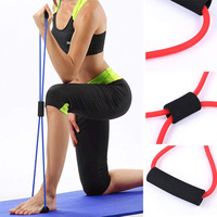 8 Strap Yoga Belts Gym Fitness Rope Figure Sport Yoga Stretch Belt Fitness B np