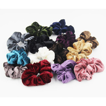 LOVINGSHA 5Pcs/Lot 14 Colors 2018 Women Scrunchie Ponytail Hair Holder Rope Fashion Hair Accessories FC047