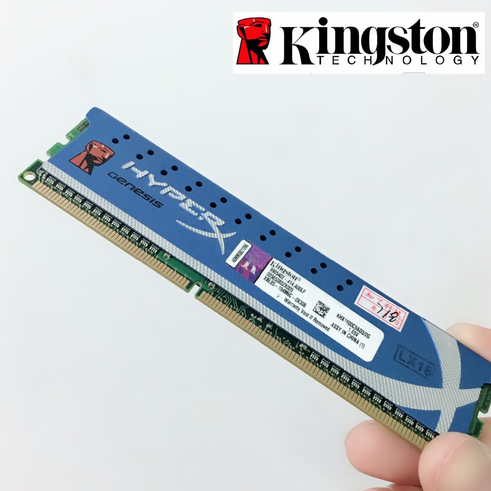 Kingston HyperX PC Memory RAM Memoria Module Computer Desktop 2GB 4GB DDR3 PC3 10600 12800 1333MHZ 1600MHZ 2G 4G 1333 1600 MHZ