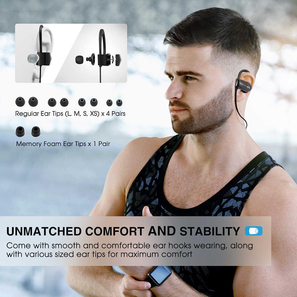 9f0d1f6728e454 ... Upgrade Mpow D7 Bluetooth 4.1 Earphone Wireless IPX7 Waterproof  Headphone Handsfree Calling 10-12 Hours ...