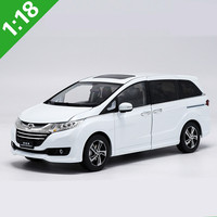 High quality collection 1:18 Alloy HONDA ODYSSEY,diecast metal model toy vehicle,High simulation collection model,free shipping
