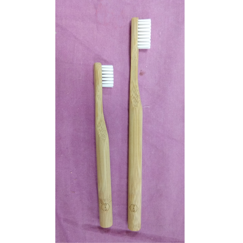 100Pcs/Set Custom Logo Free Round Handle Wholesale Bulk Eco Friendly Adult Or Child Bamboo Toothbrushes For Promotions Gifts wholesale bulk 20mm 100pcs handmade round clay