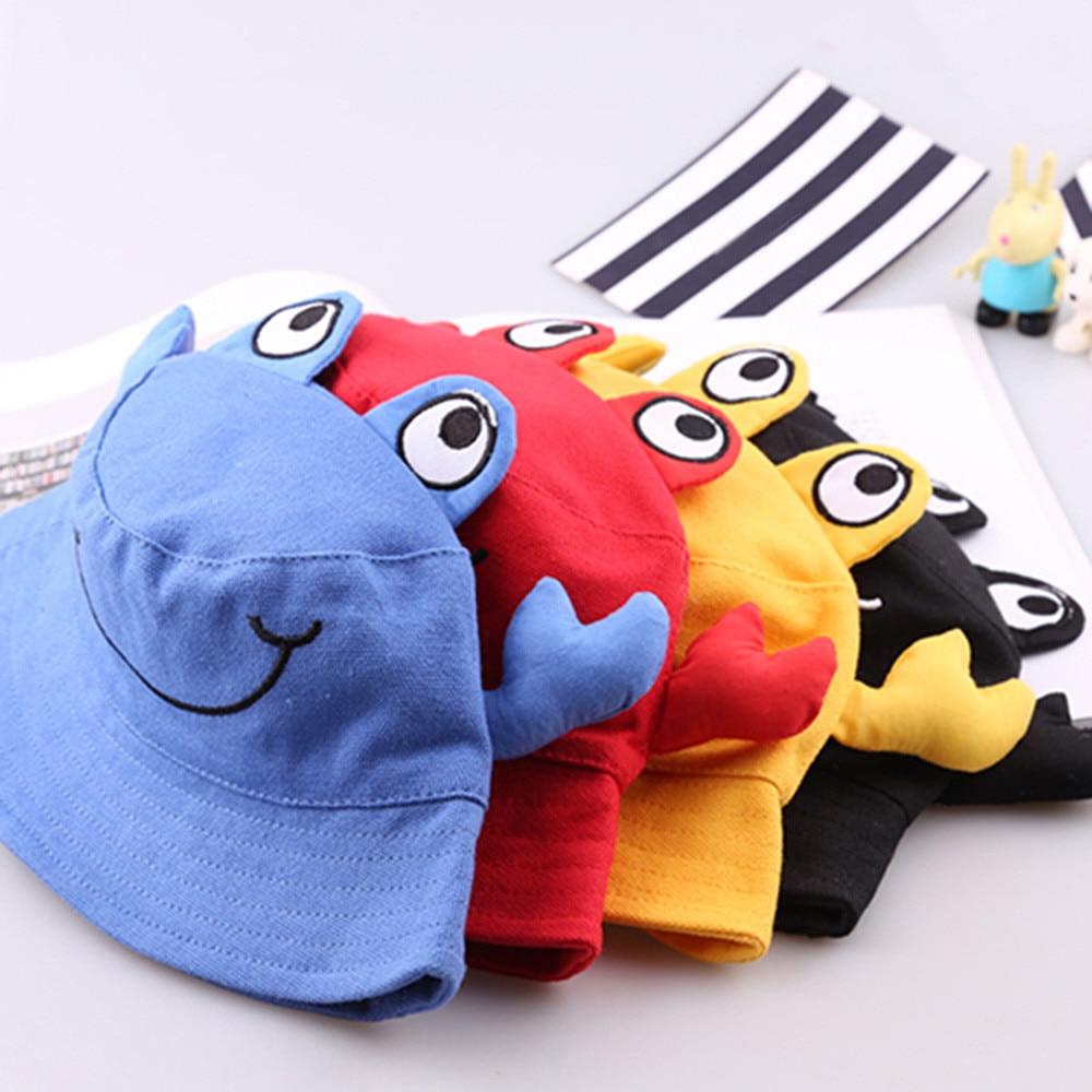 Kids Toddlers Baby Cartoon Animal Sun Basin Cap Children Fisherman Hat Sunhat