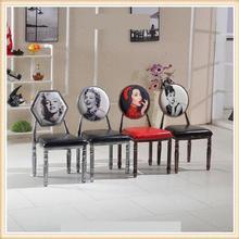 Старый стул в стиле ретро персонализированные обеденный стул для маникюра тема обеденный стул Европейский стиль отель стул Американский обеденный стул