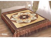 Bedspread euro Maxi Marianna, Silk 3D, Mosaic, 230*250 cm