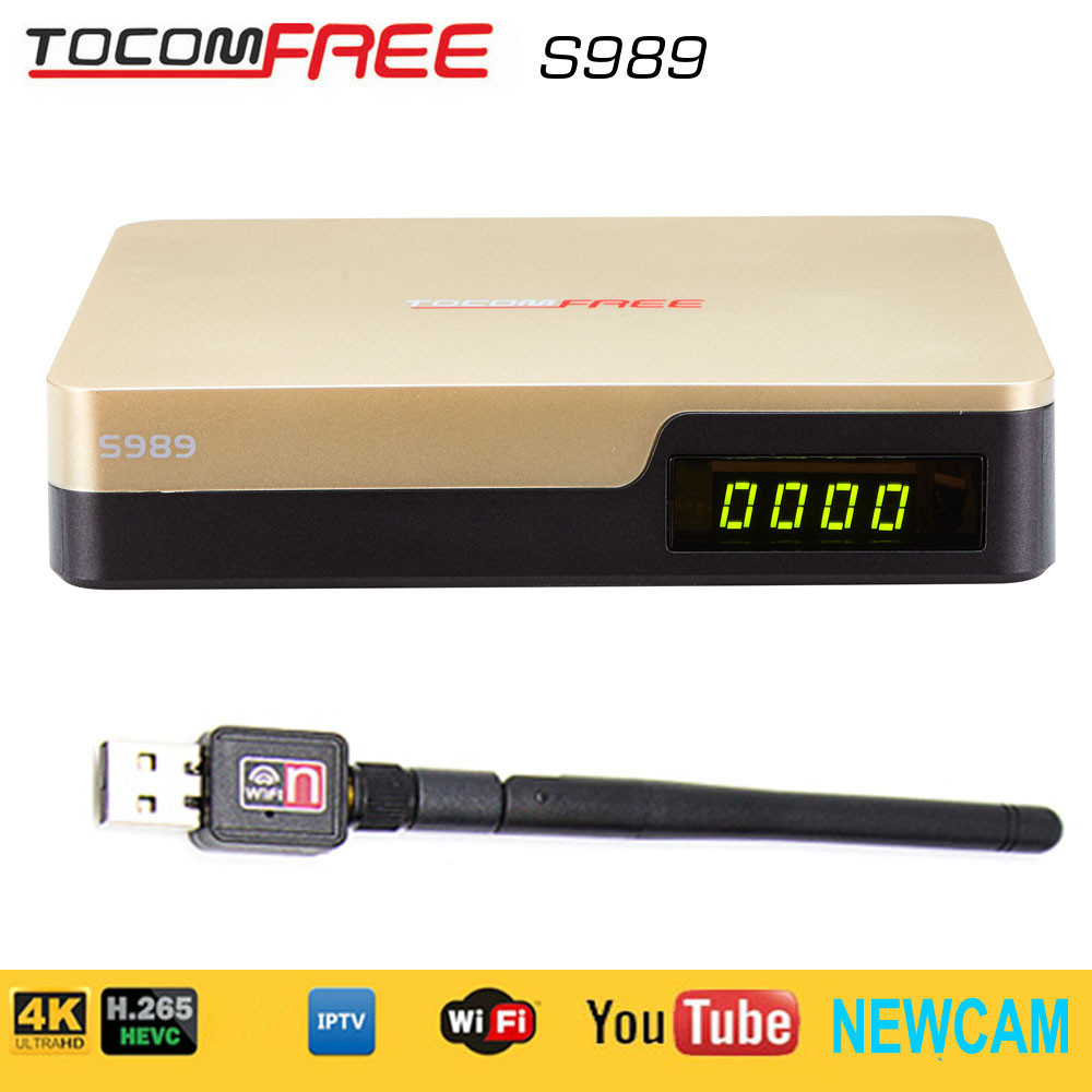 ФОТО 2017South America fta satellite receiver hd tocomfree s989 with iks sks iptv newcam