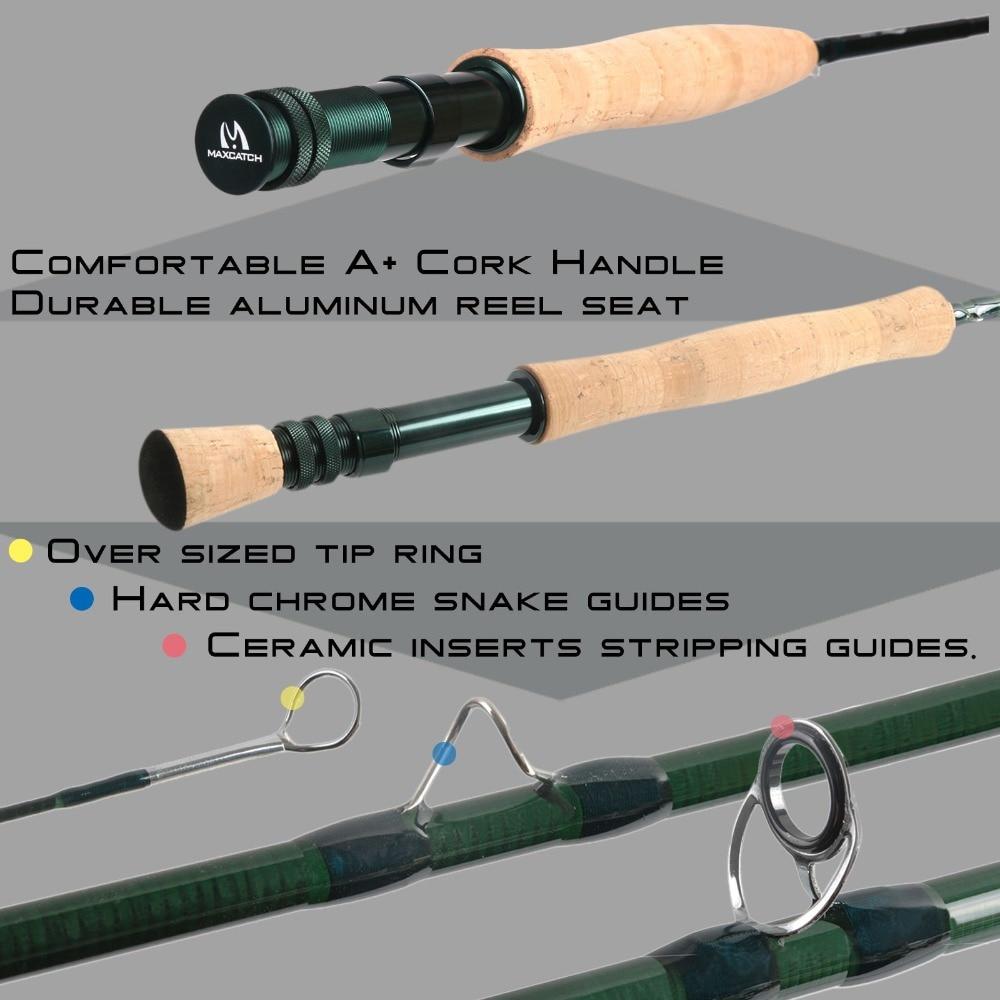 Maximumcatch Extreme Fly Ribolov štap 3/4/5/6 / 8weight s IM6 - Ribarstvo - Foto 5