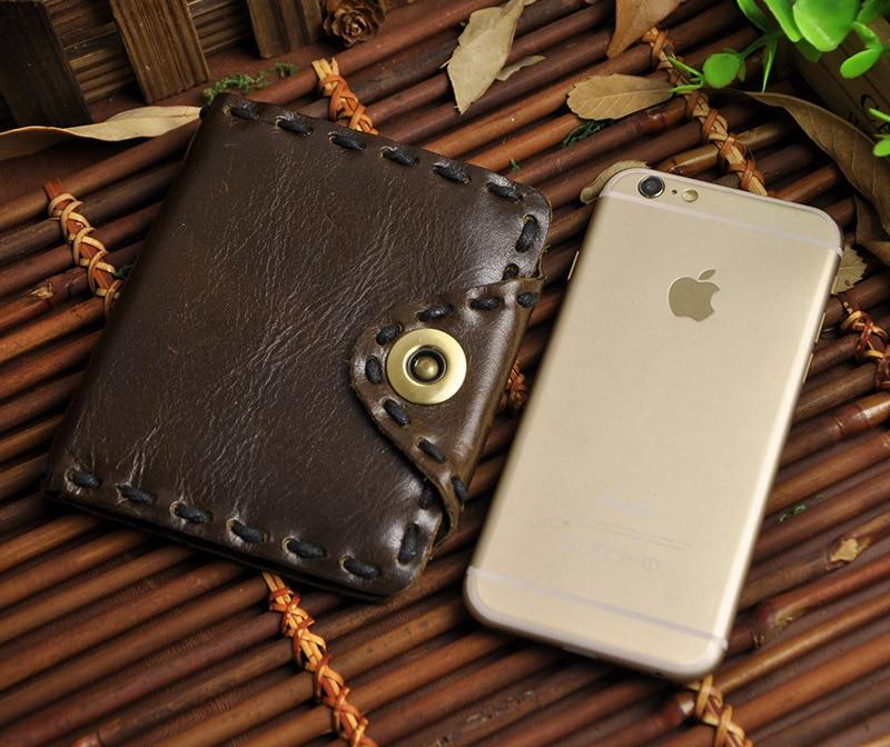 100% qualidade superior couro de Materical : Oil Wax Genuine Leather