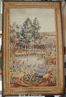 2014 Hot Sale Special Offer Freeshipping 100% Cotton Gobelin Picture Pure Wool Handmade Tapestry 122cmx183cm 4 X 6 Gc10tap11