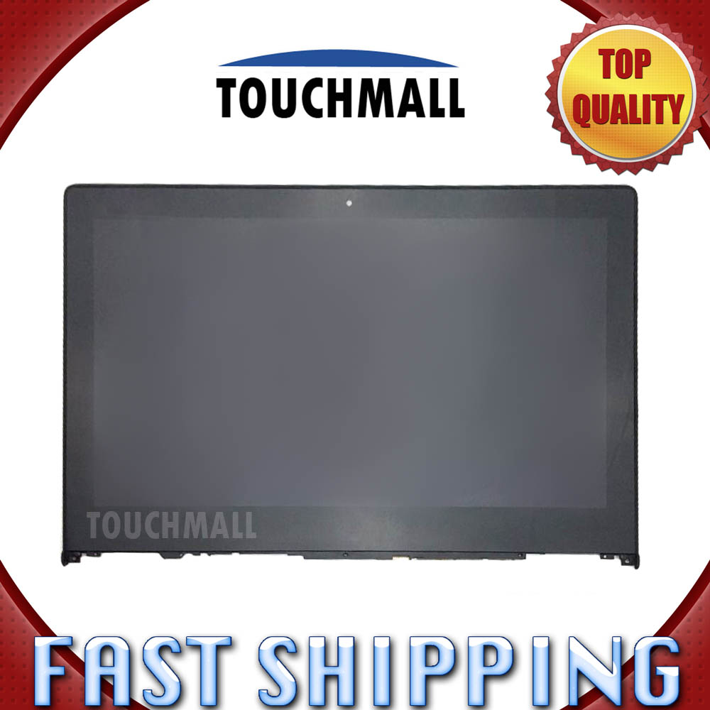 For Lenovo Yoga 2 13 B133HAN02.0 Replacement LCD Display Touch Screen Digitizer with Frame Assembly 13.3-inch Black for Laptop original new 14 inch lcd screen display with touch panel digitizer replacement part for lenovo yoga 5 pro lcd assembly yoga 910