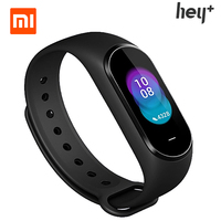 Xiaomi Original Hey Plus Smartband 0.95 Inch AMOLED Color Screen Builtin Multifunction NFC Message Reminder Push Message