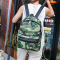 2017 nueva versión Coreana de los hombres viajan bolso femenino tendencia de la moda de la escuela secundaria estudiantes universitarios viento Camuflaje