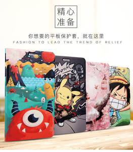 Soft-Case Tablet Huawei Mediapad KOB-L09 T3 8.0 Support-Stand-Cover Silicone Cartoon
