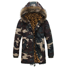 2018 Winter Camouflage Loose Coat Thicken In Warm Military Cotton-padded Clothes Waterproof Snow Jackets Brand Casual Parkas 2xl