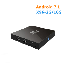 [Wechip] X96 Android 6.0 ТВ коробке 2 г 16 г Amlogic S905X 4 ядра Wi-Fi HDMI 2.0A 4 К * 2 К kdplayer Зефир HD медиаплеер