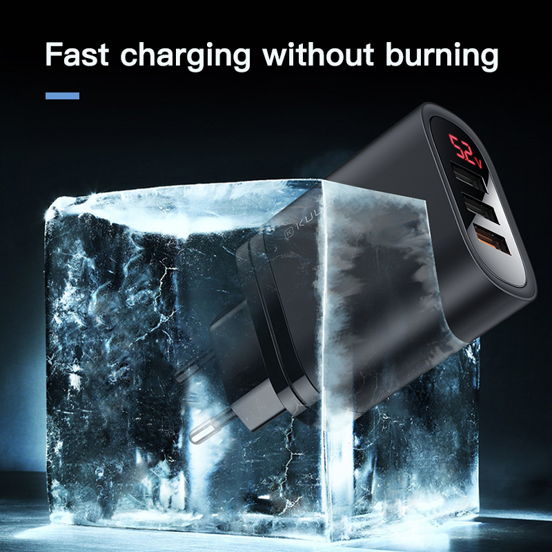 Image 5 - KUULAA Quick Charge 3.0 USB Charger 30W QC3.0 QC Fast Charging Multi Plug Mobile Phone Charger For iPhone Samsung Xiaomi Huawei-in Mobile Phone Chargers from Cellphones & Telecommunications