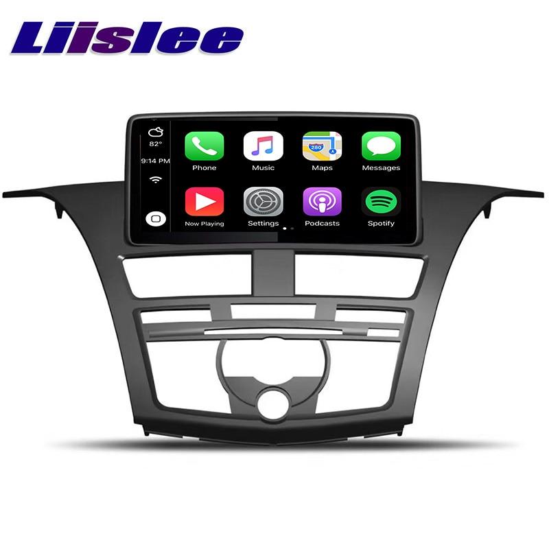 Excellent LiisLee Car Multimedia GPS Audio Radio Stereo For Mazda BT 50 BT50 2011~2018 Original Style Navigation NAVI 1