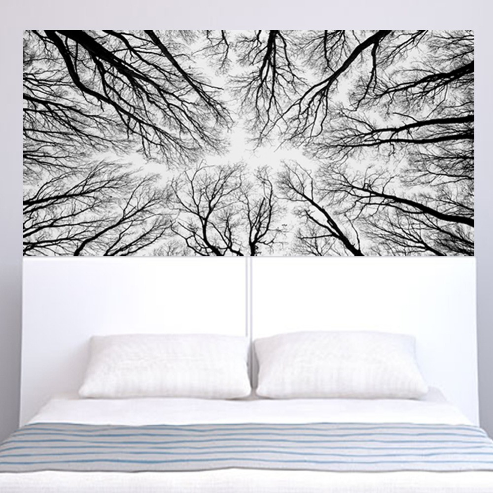 Image 2 - Mysterious Woods Branches Home Decoration Wall Decal Mural Art Diy Office Wall Art Wall Stickers Living Room Bedroom Office Arts-in Wall Stickers from Home & Garden