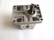 Shenniu Bison SN250 SN254 parts the gearpump, left rotation, splined shaft, with flange, model CBNE314L
