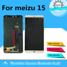 "5.46 ""Originale M & Sen Per Meizu 15 MX 15 M881Q M881C M881M Snapdragon 660 Super AMOLED Schermo LCD display Touch Panel Digitizer"