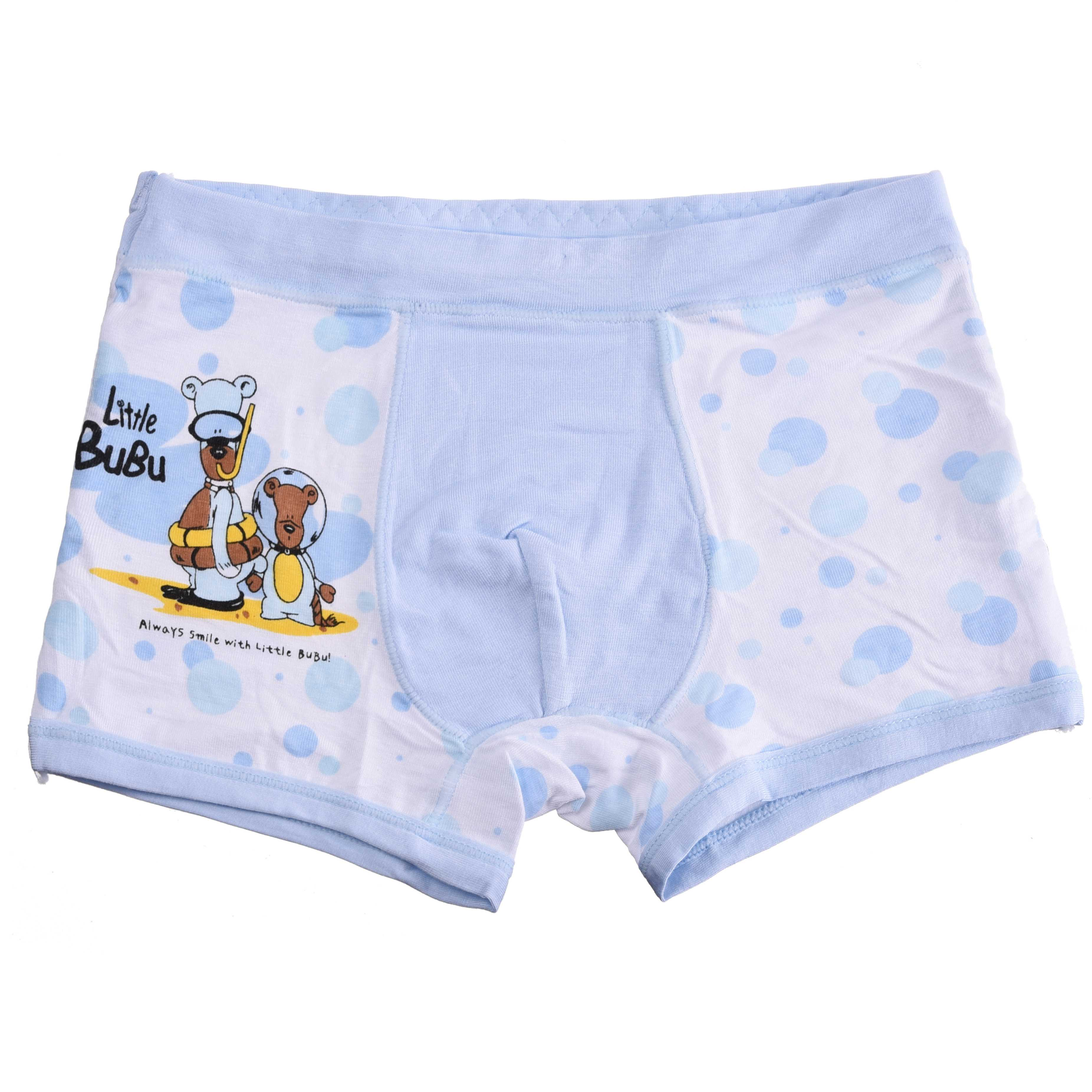 Bamboo Fiber Children Underwear Sports Boys Shorts Panties Kids